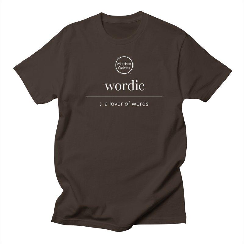 Wordie Men's Regular T-Shirt by Merriam-Webster Dictionary