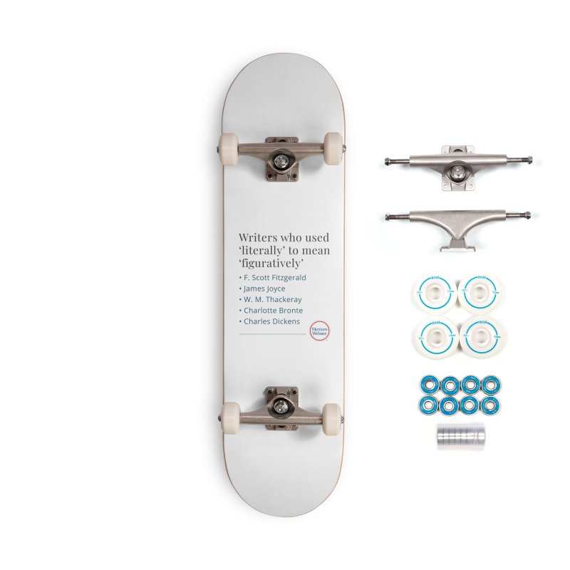 Literally Accessories Complete - Basic Skateboard by Merriam-Webster Dictionary