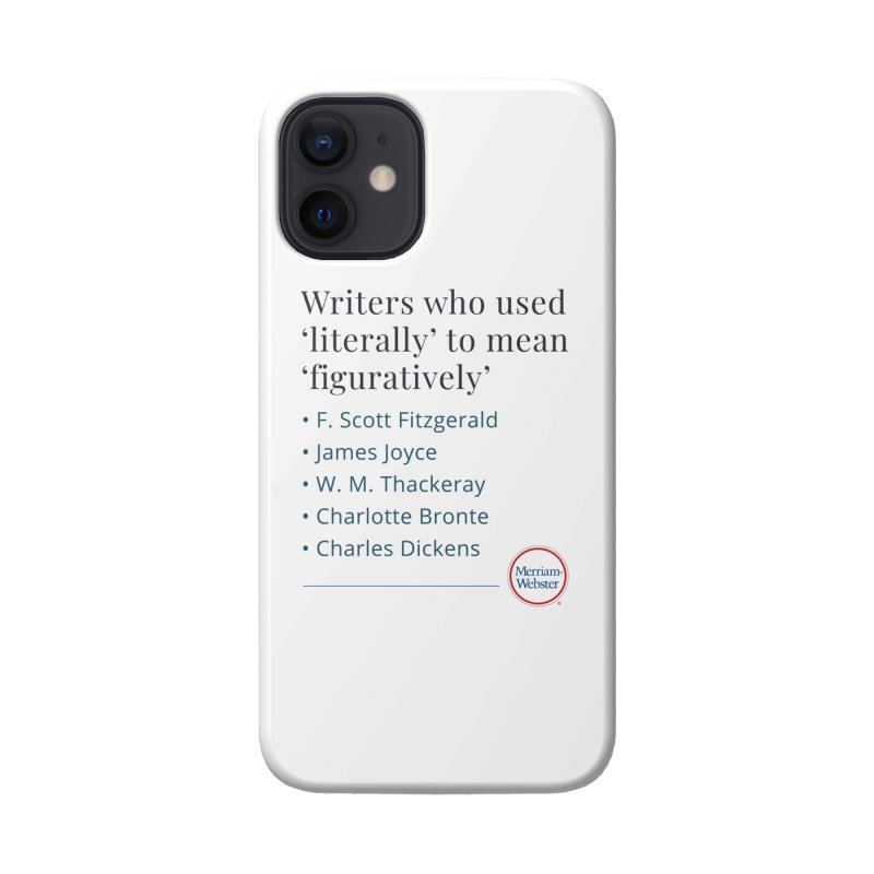 Literally Accessories Phone Case by Merriam-Webster Dictionary