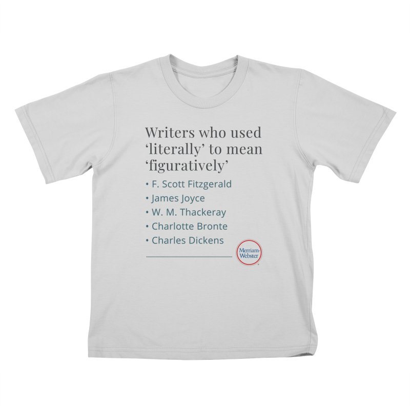 Literally Kids T-Shirt by Merriam-Webster Dictionary