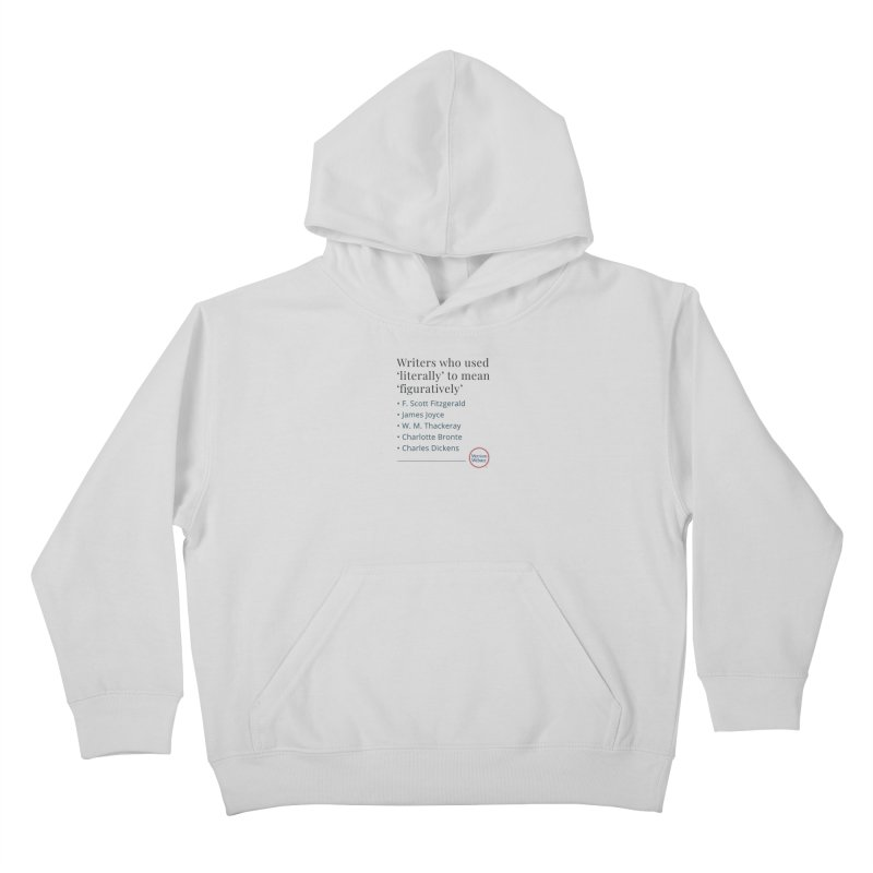 Literally Kids Pullover Hoody by Merriam-Webster Dictionary