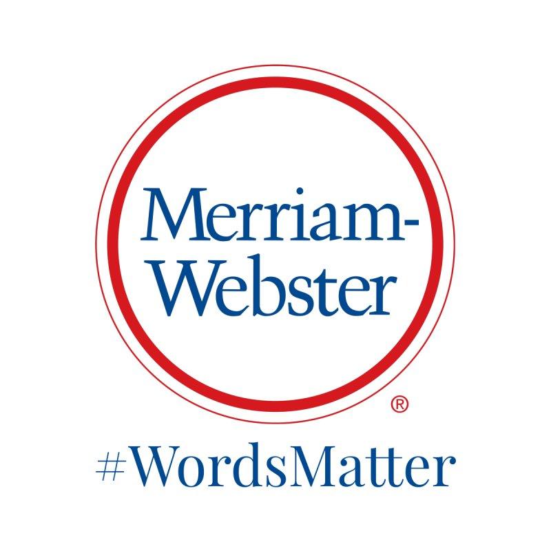 WordsMatter Women's Sweatshirt by Merriam-Webster Dictionary