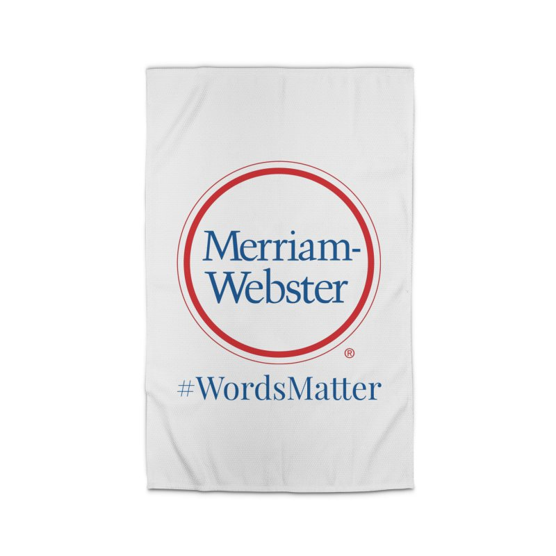 WordsMatter Home Rug by Merriam-Webster Dictionary