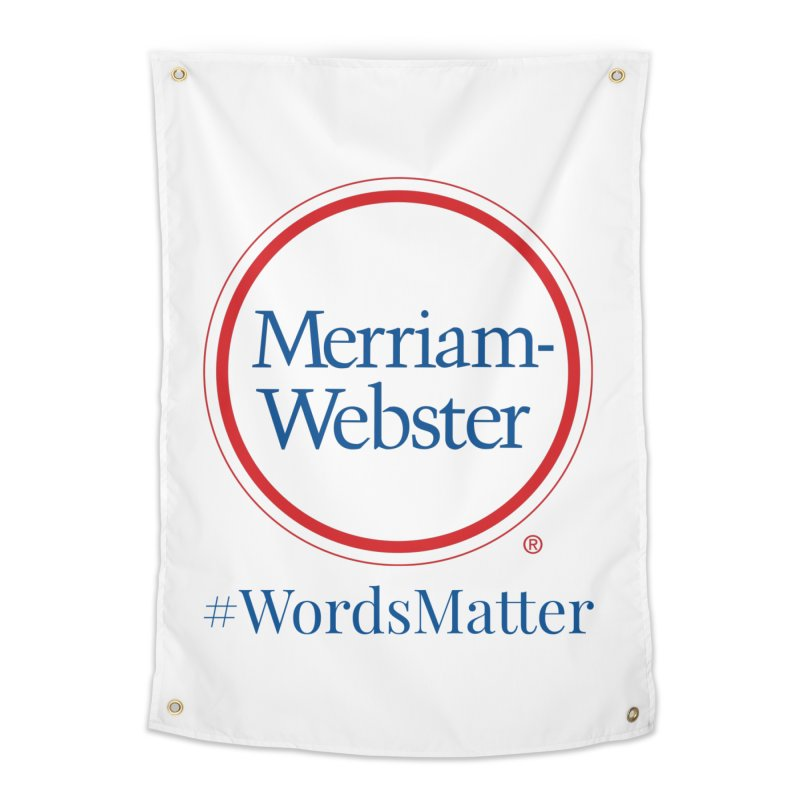 WordsMatter Home Tapestry by Merriam-Webster Dictionary
