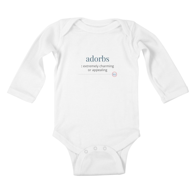 Adorbs Kids Baby Longsleeve Bodysuit by Merriam-Webster Dictionary