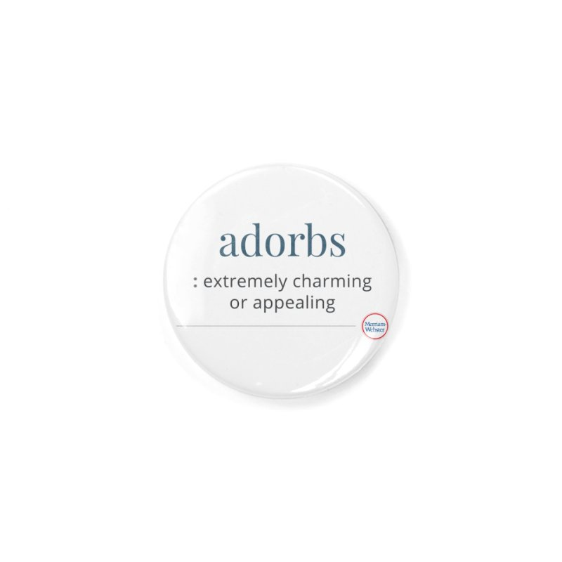 Adorbs Accessories Button by Merriam-Webster Dictionary