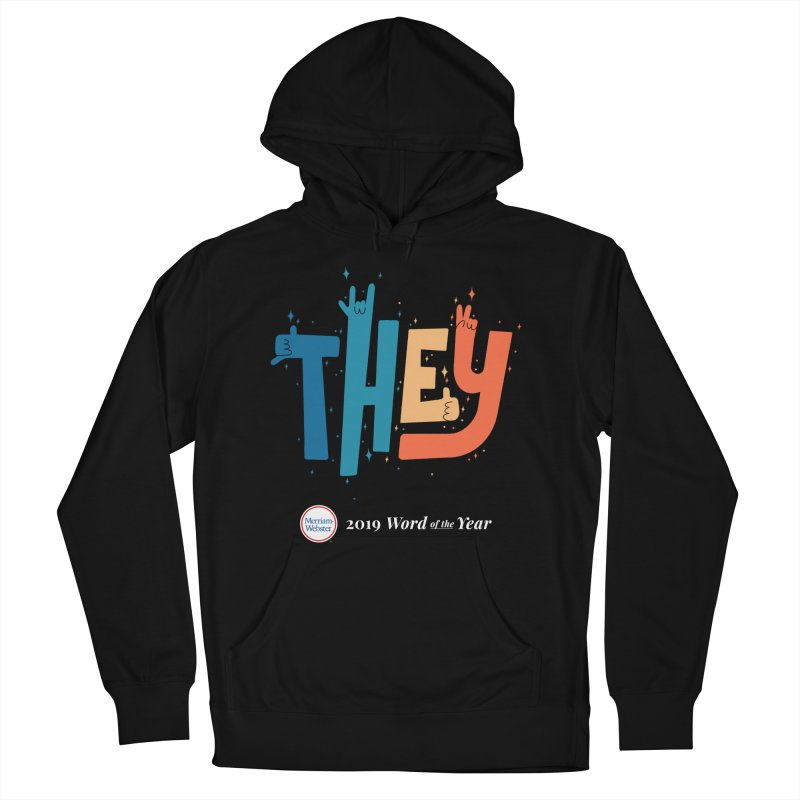 THEY ROCKS Men's French Terry Pullover Hoody by Merriam-Webster Dictionary