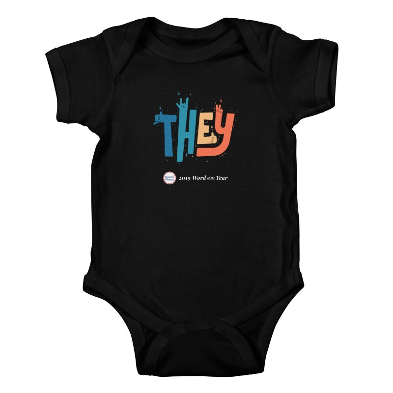 THEY ROCKS Kids Baby Bodysuit by Merriam-Webster Dictionary