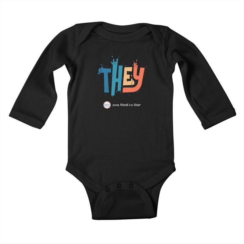 THEY ROCKS Kids Baby Longsleeve Bodysuit by Merriam-Webster Dictionary