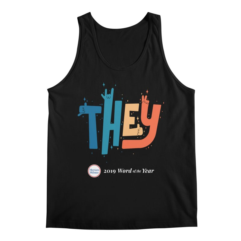 THEY ROCKS Men's Regular Tank by Merriam-Webster Dictionary