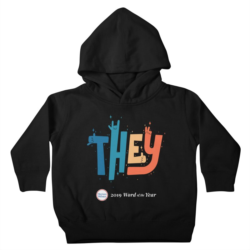 THEY ROCKS Kids Toddler Pullover Hoody by Merriam-Webster Dictionary