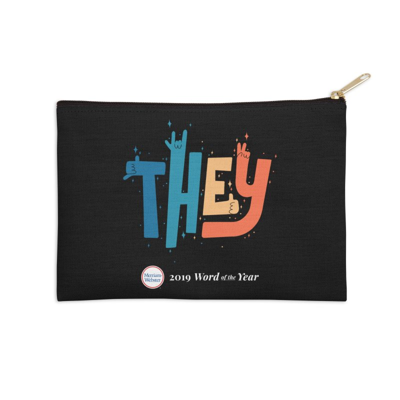 THEY ROCKS Accessories Zip Pouch by Merriam-Webster Dictionary