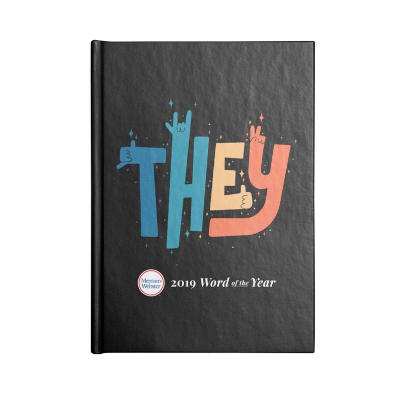 THEY ROCKS Accessories Blank Journal Notebook by Merriam-Webster Dictionary
