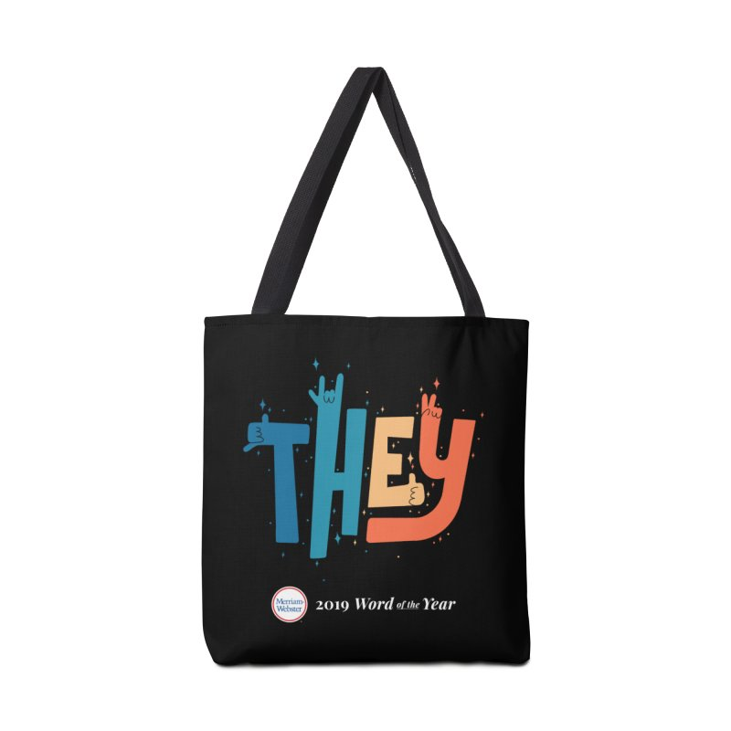 THEY ROCKS Accessories Tote Bag Bag by Merriam-Webster Dictionary