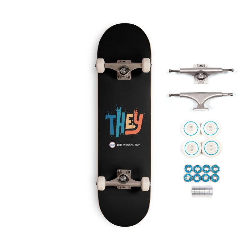 THEY ROCKS Accessories Complete - Basic Skateboard by Merriam-Webster Dictionary