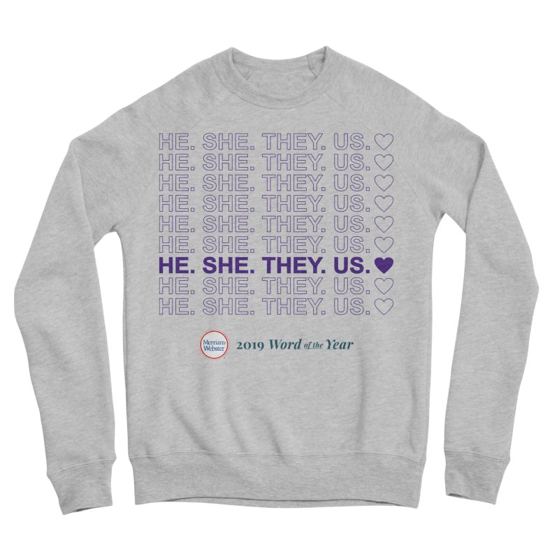 ALL TOGETHER Women's Sponge Fleece Sweatshirt by Merriam-Webster Dictionary