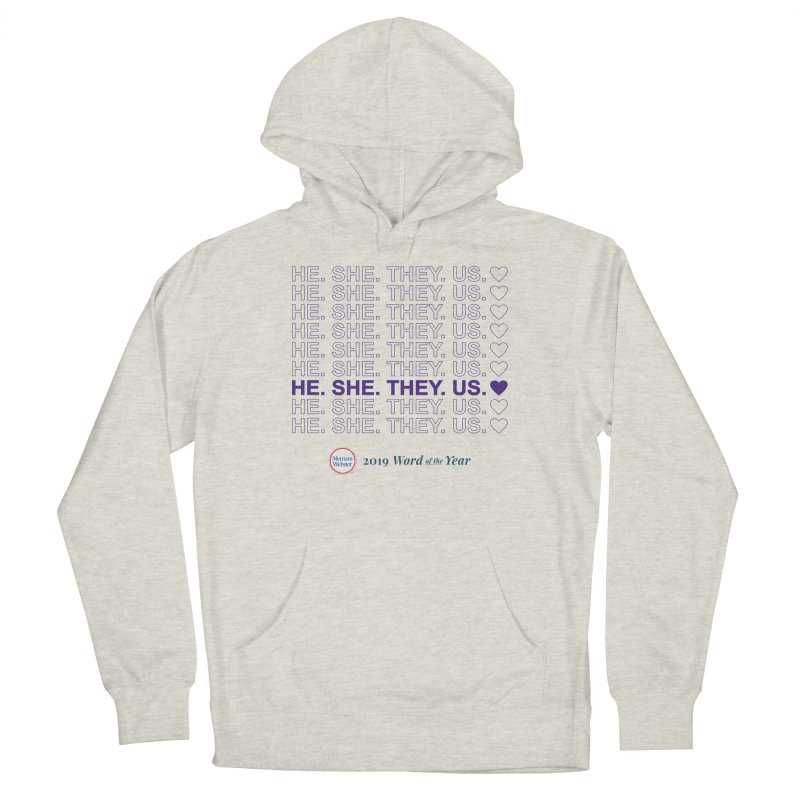 ALL TOGETHER Women's Pullover Hoody by Merriam-Webster Dictionary