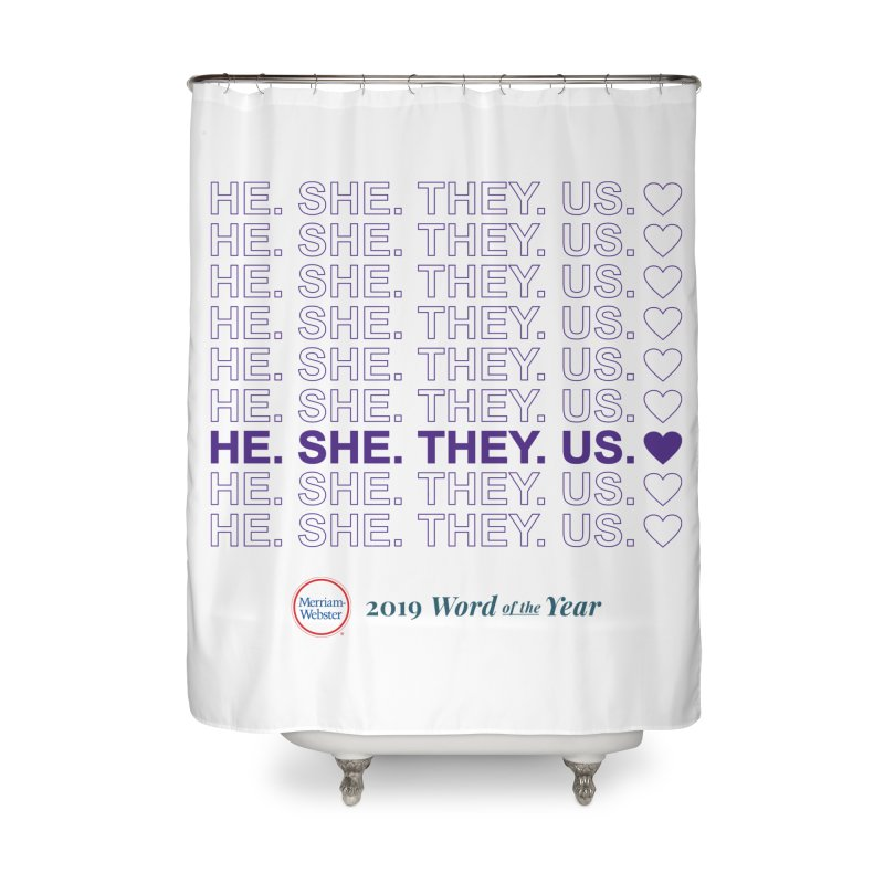 ALL TOGETHER Home Shower Curtain by Merriam-Webster Dictionary