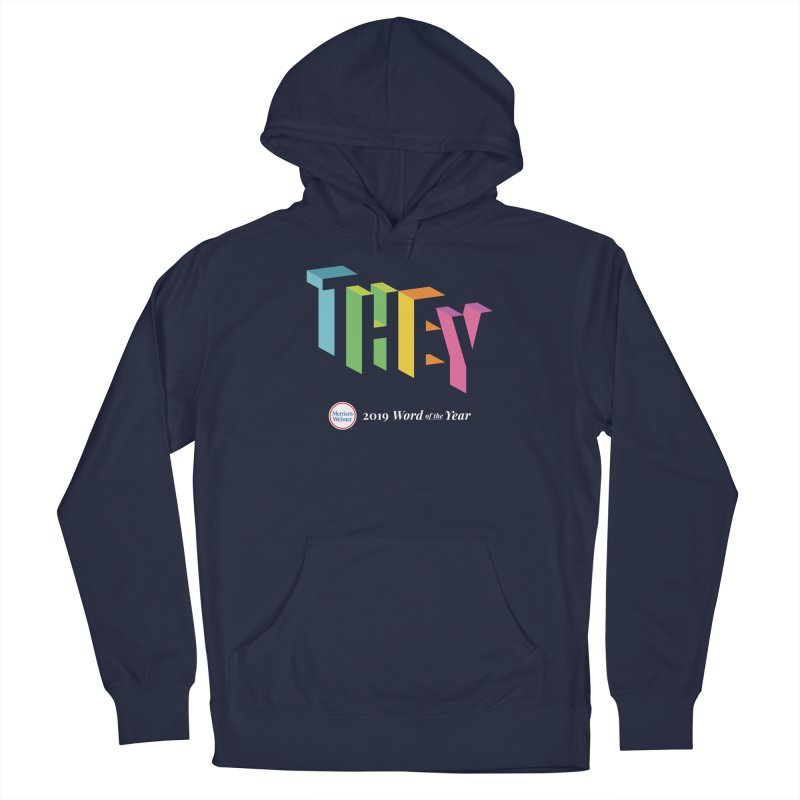 THEY LETRAS Men's Pullover Hoody by Merriam-Webster Dictionary