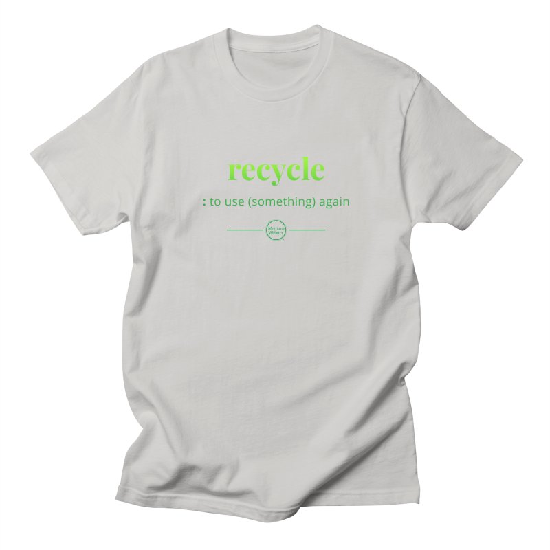 Recycle Men's Regular T-Shirt by Merriam-Webster Dictionary