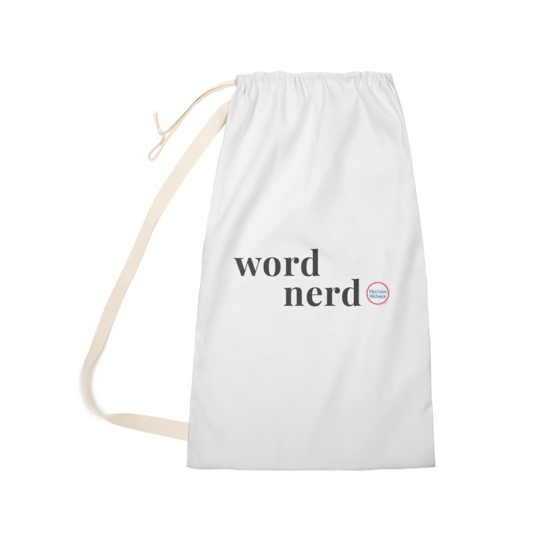 Word Nerd (full color) Accessories Laundry Bag Bag by Merriam-Webster Dictionary