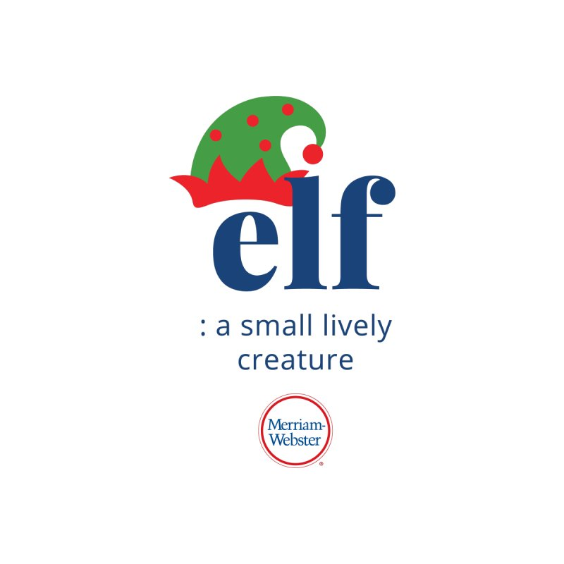 Elf Kids T-Shirt by Merriam-Webster Dictionary
