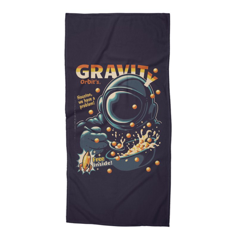 Houston, We Have A Problem Accessories Beach Towel by metalsan's Artist Shop