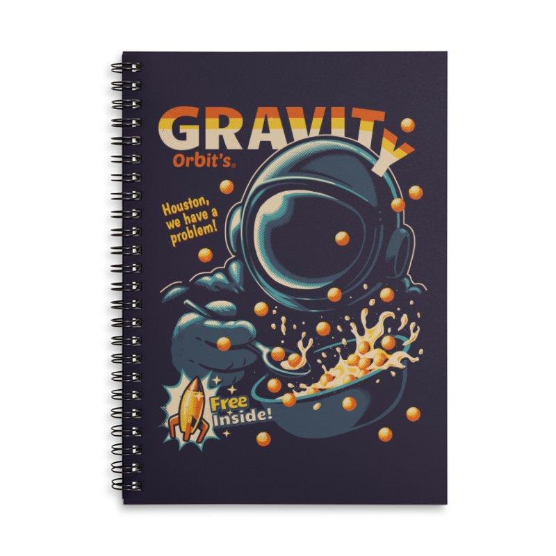 Houston, We Have A Problem Accessories Notebook by Santiago Sarquis's Artist Shop