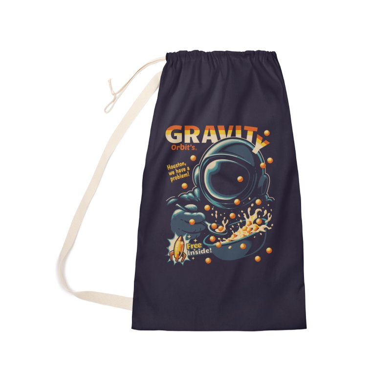 Houston, We Have A Problem Accessories Bag by Santiago Sarquis's Artist Shop