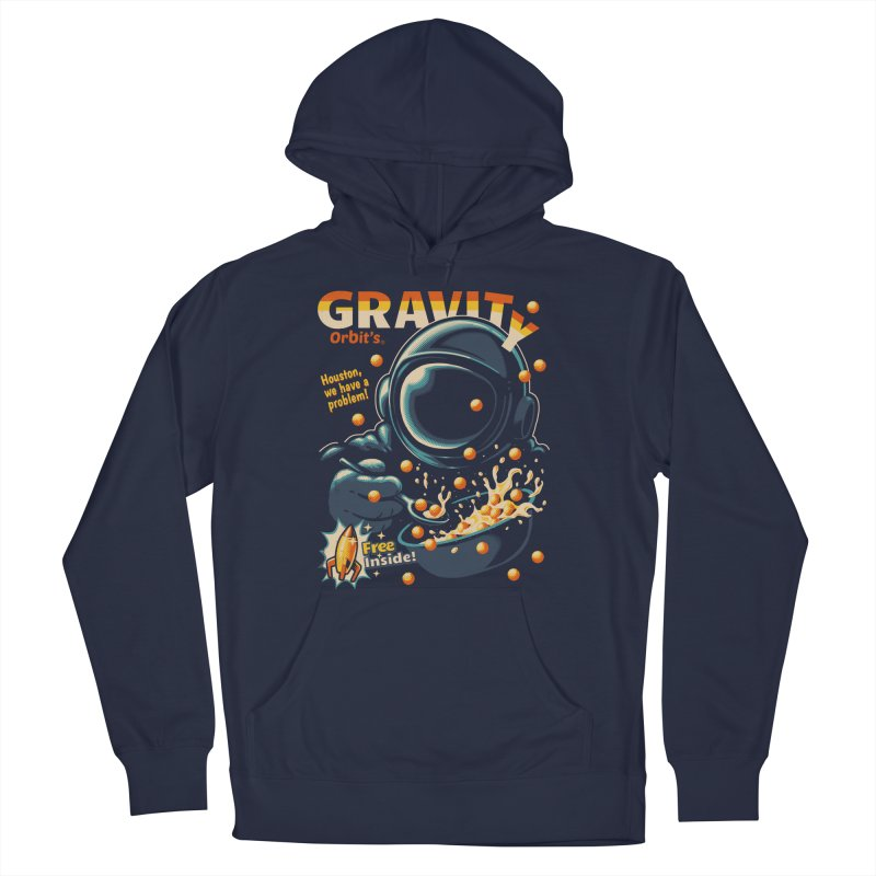 Houston, We Have A Problem Men's Pullover Hoody by Santiago Sarquis's Artist Shop