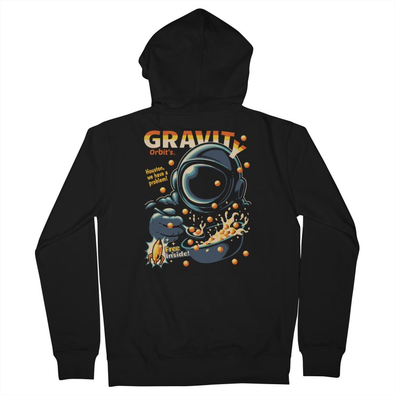 Houston, We Have A Problem Men's Zip-Up Hoody by metalsan's Artist Shop