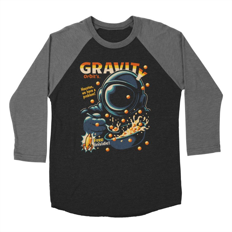 Houston, We Have A Problem Men's Baseball Triblend T-Shirt by Santiago Sarquis's Artist Shop