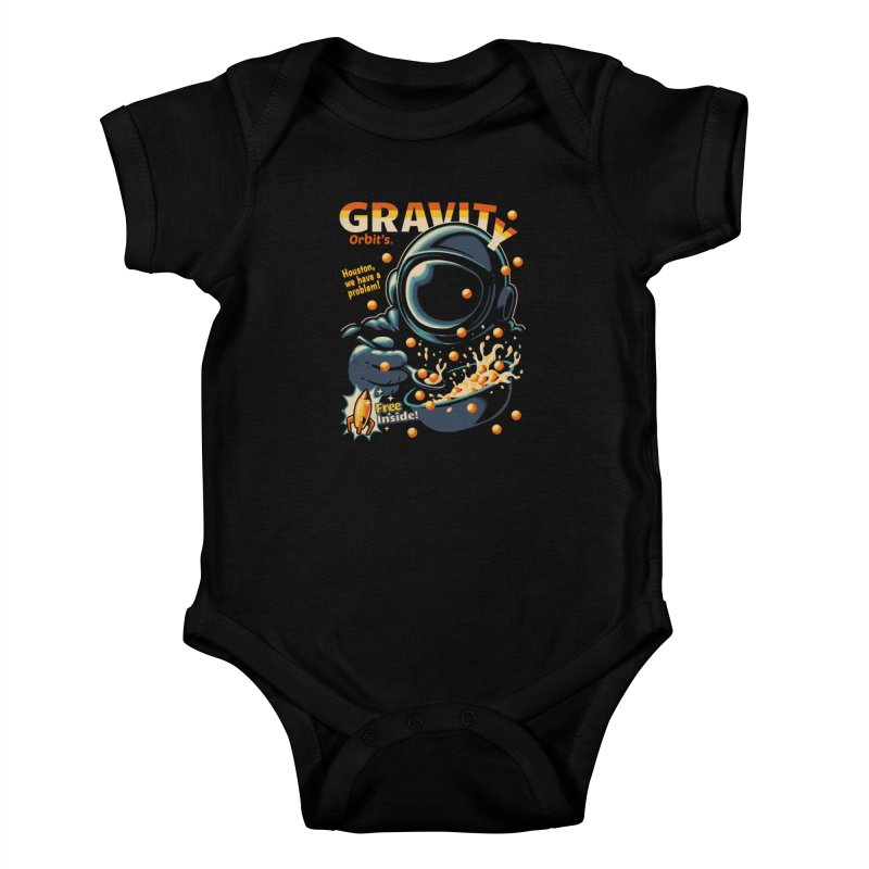 Houston, We Have A Problem Kids Baby Bodysuit by Santiago Sarquis's Artist Shop