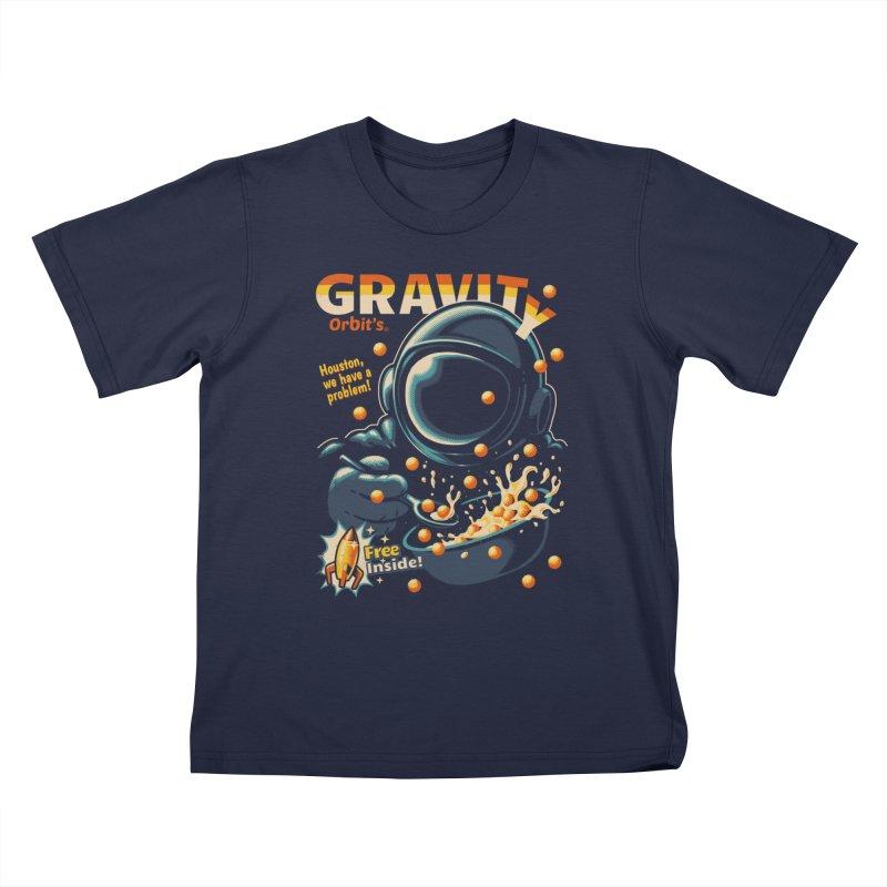 Houston, We Have A Problem Kids T-Shirt by Santiago Sarquis's Artist Shop
