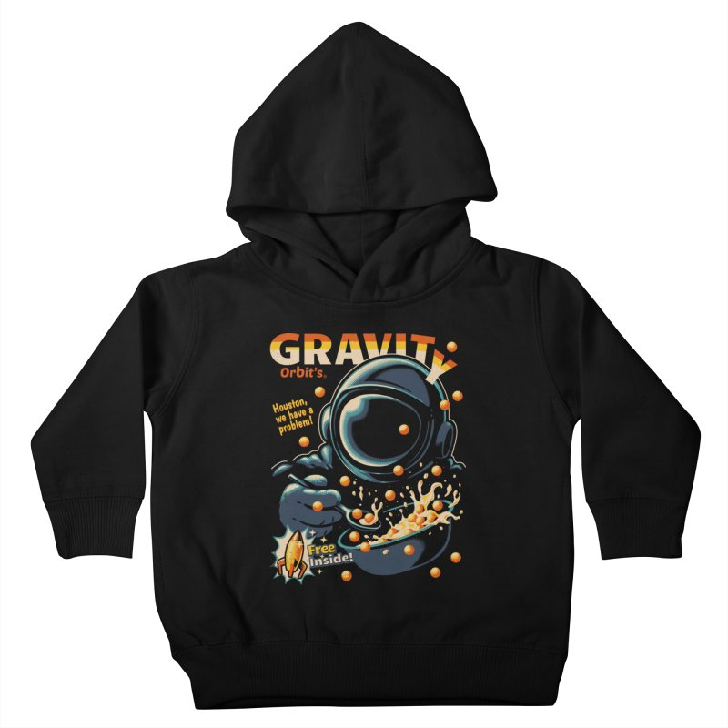Houston, We Have A Problem Kids Toddler Pullover Hoody by metalsan's Artist Shop