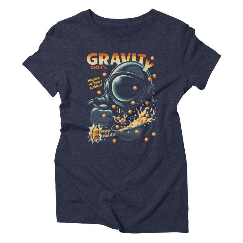 Houston, We Have A Problem Women's Triblend T-shirt by metalsan's Artist Shop