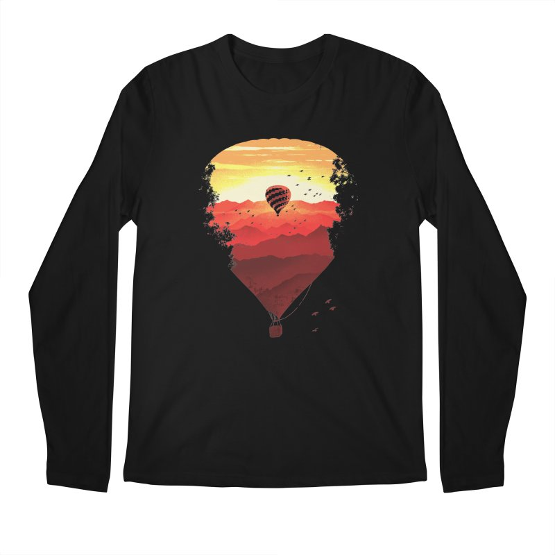 Journey Men's Longsleeve T-Shirt by Santiago Sarquis's Artist Shop