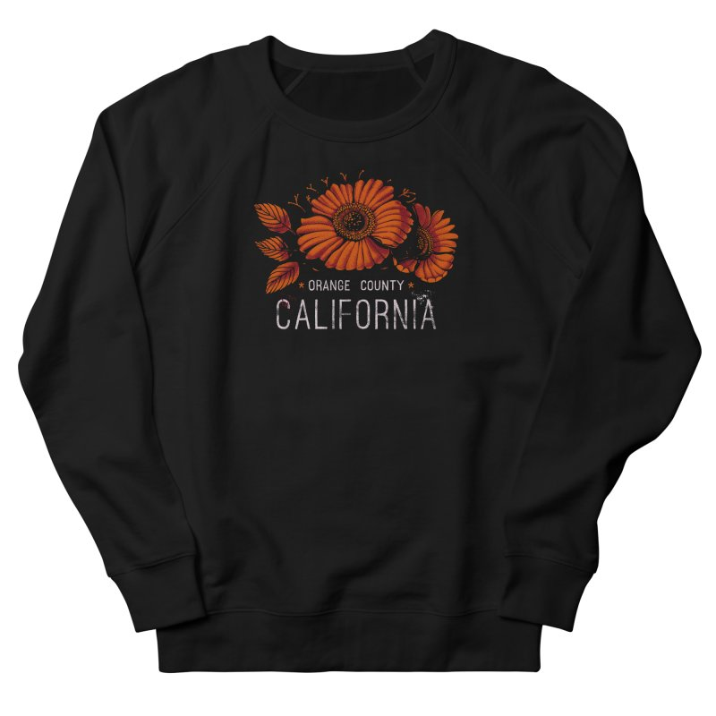 Las Flores Women's Sweatshirt by Santiago Sarquis's Artist Shop