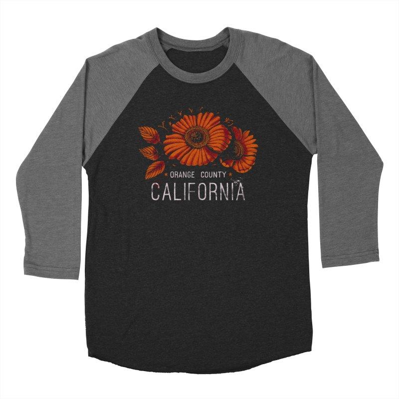 Las Flores Women's Baseball Triblend Longsleeve T-Shirt by Santiago Sarquis's Artist Shop