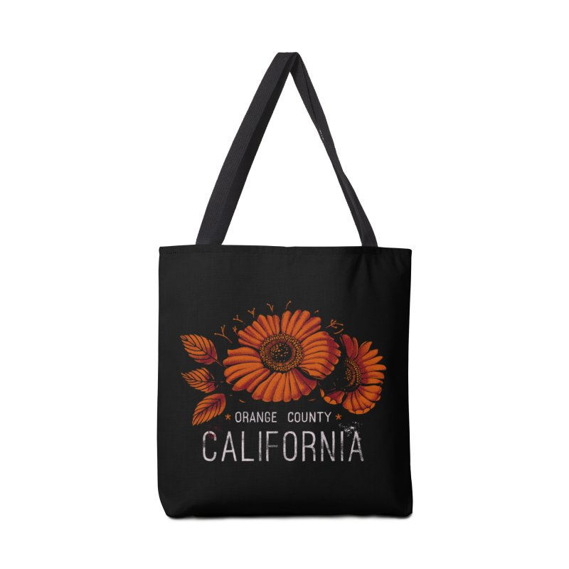 Las Flores Accessories Bag by metalsan's Artist Shop