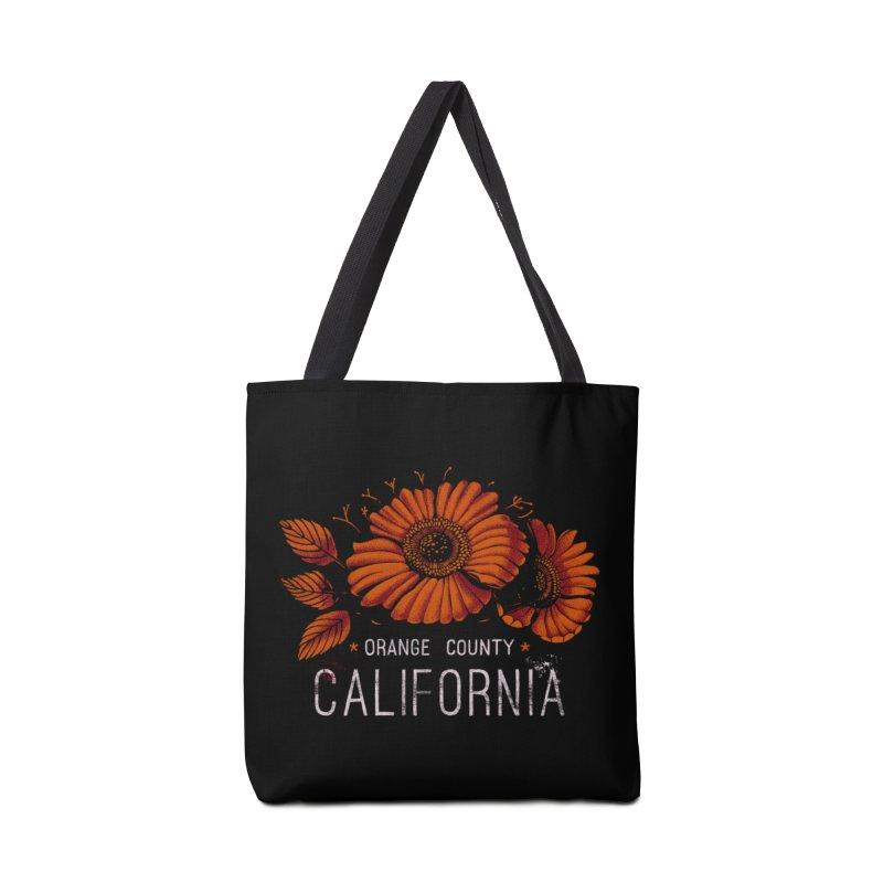 Las Flores Accessories Tote Bag Bag by Santiago Sarquis's Artist Shop