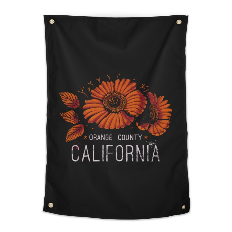 Las Flores Home Tapestry by metalsan's Artist Shop