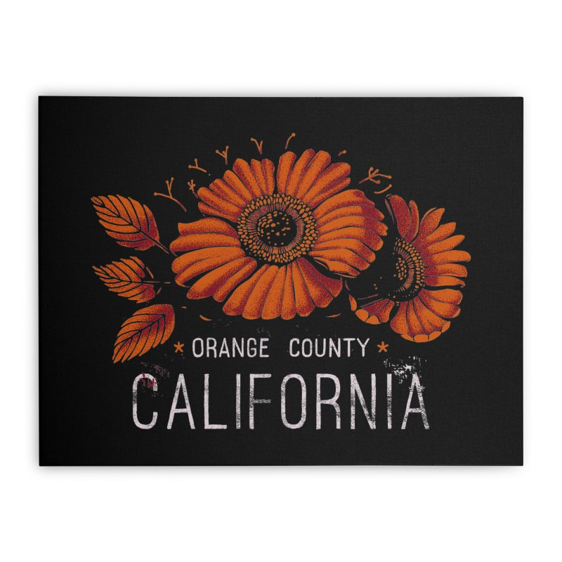Las Flores Home Stretched Canvas by metalsan's Artist Shop