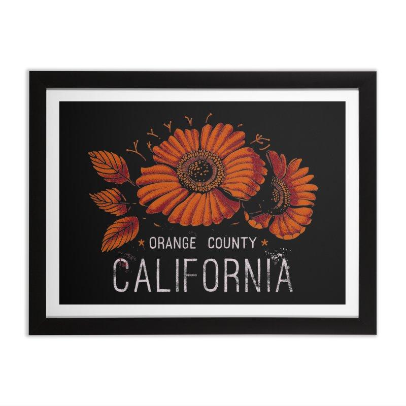 Las Flores Home Framed Fine Art Print by metalsan's Artist Shop