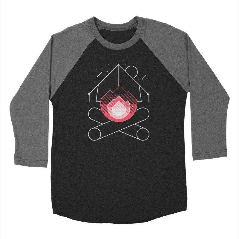 Memories Men's Baseball Triblend T-Shirt by metalsan's Artist Shop