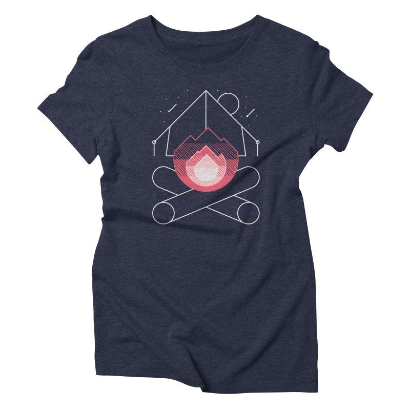 Memories Women's Triblend T-shirt by metalsan's Artist Shop