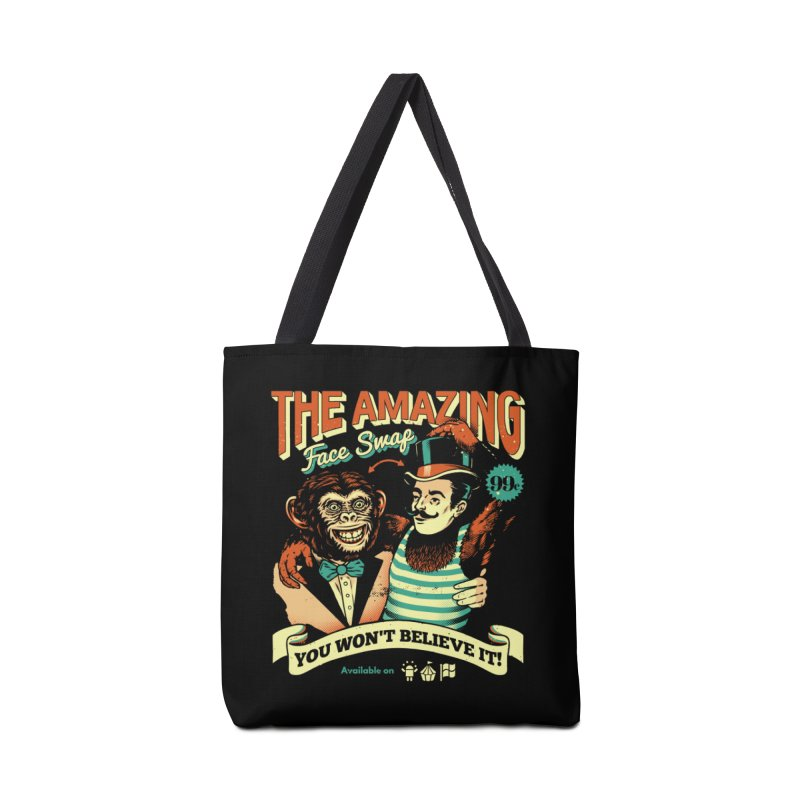 The Amazing Face Swap Accessories Tote Bag Bag by Santiago Sarquis's Artist Shop
