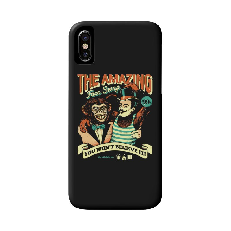 The Amazing Face Swap Accessories Phone Case by Santiago Sarquis's Artist Shop