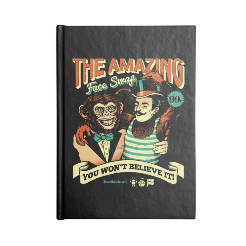The Amazing Face Swap Accessories Notebook by metalsan's Artist Shop