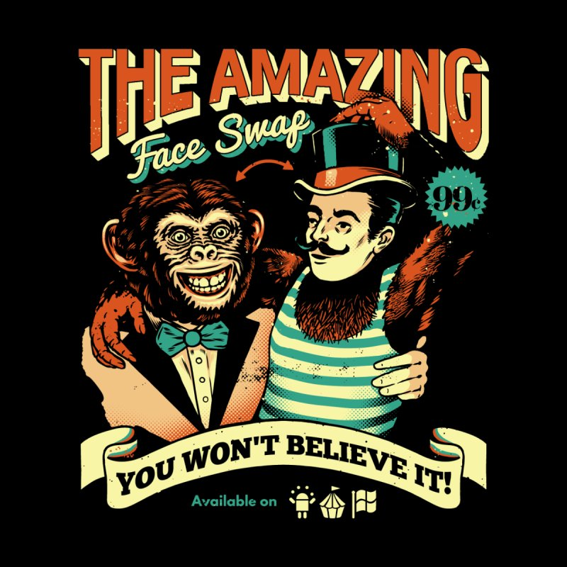 The Amazing Face Swap Men's T-Shirt by Santiago Sarquis's Artist Shop